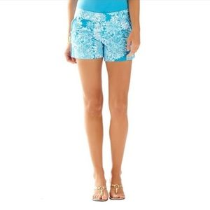 LILLY PULITZER Lion in the Sun Callahan Shorts